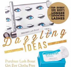 ✨✨Dazzling Ideas- Day 2✨✨ It's said that good things come to those who wait...4 weeks to Wow, 8 weeks to Obsessed!! Lash Boost, it's the next best thing since mascara. Apply #RFLashBoost along your upper lash line, nightly and within weeks you'll have longer-looking, darker-looking, fuller-looking lashes, just in time for New Years Eve! And with your purchase you'll also get Redefine Eye Cloths, mini Eye Cream, and a travel bag! #DazzlingIdeas #RFChristmas2016