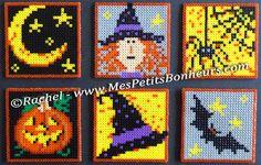 Halloween Mini Bügelperlen von Rachel MesPetitsBonHeurs.com