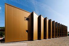 Golden Hall / A4 Studio (Budapest, Hungría) #architecture