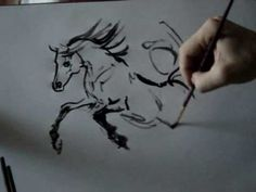 How to draw horse (Dynamics) by Tora