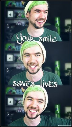 I have depression, and Jacksepticeye helps me out every time when I watch him do his thing. Thank you Jackaboy!