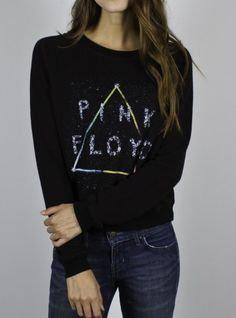 Junk Food Clothing Pink Floyd Pullover www.junkfoodclothing.com #junkfoodtees