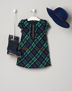 Cottage Supper by Janie and Jack Plaid Dress