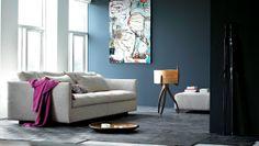 O sofá Box, da Eilersen, é perfeito para salas de estar. Além de seu lindo design, ainda é extremamente confortável.