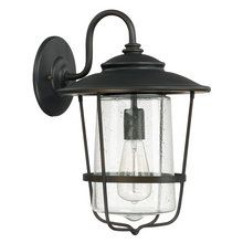 """Creekside Single Light 16"""" Tall Outdoor Wall Sconce"""