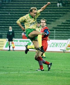 Ex Norwich City player Jeremy Goss