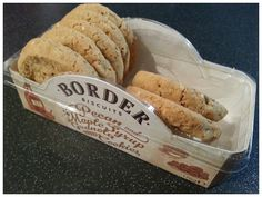 REVIEW! Border Biscuits Pecan and Maple Syrup Granola Cookies