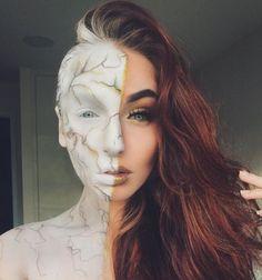 Most Hauntingly Gorgeous Halloween Makeup Looks : halloween