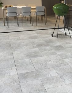 The Optimal collection has a distinctive but varied colour blend which creates a modern, contemporary appearance of polished concrete. Outdoor Porcelain Tile, Outdoor Tiles, Outdoor Flooring, Concrete Tiles, Polished Concrete, Al Fresco Dining, Color Blending, Tile Design, Modern Contemporary