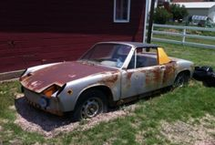 This 1970 Porsche 914-6 is said to be a matching numbers car with all five original Fuchs wheels and the proper Weber carburetors. This one needs serious work, but we'd love to see it put right. Find ithere on Pelican Partsin Orange Park, Florida for $6500 where it has been on offer for a whi