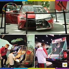 MC² Consumer Events activated an event for Toyota that brought the community to life. Through interactive games like skee-ball and table tennis, the audience was entertained, while also being able to view incredible vehicle displays. #Toyota #display #eventprofs #MC2 #marketing