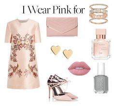 """Pink world"" by rosarioenciso on Polyvore featuring moda, STELLA McCARTNEY, Fratelli Karida, Sasha, Lipsy, Maison Francis Kurkdjian, Lime Crime e IWearPinkFor"