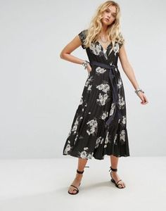 Free People All I Got Maxi Dress in Floral Print