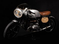 Handsome BMW R80.