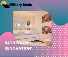Like any home remodeling project, bathroom renovation could also get nerve wrecking and exhilarating for any homeowner. Call at now. Home Remodeling, Bathroom Lighting, Military, Projects, Furniture, Home Decor, Bathroom Light Fittings, Log Projects, Bathroom Vanity Lighting