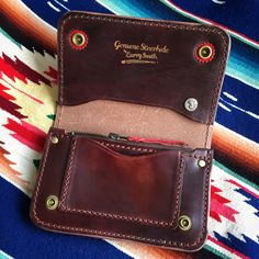 Larry Smith Trucker Wallet. (made in japan, craftsmanship, steerhide, chief)