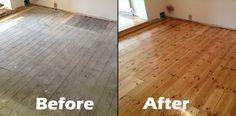 Upminster Restoration Job - Gallery of Wood Flooring Projects - BSI Flooring