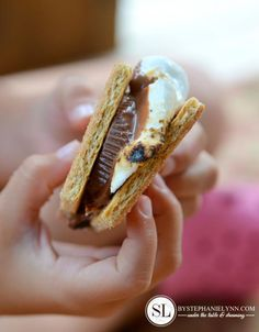 Peanut Butter S'mores Recipe - Quick and Easy Summer Dessert