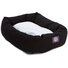 Majestic Pet 36 x 52 Bagel Dog Bed XLarge BurgundySherpa * Continue to the product at the image link. (Note:Amazon affiliate link)