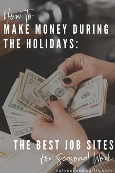Christmas is coming SOON, but there's still plenty of time to earn holiday money. If you're looking for an easy way to make money during the holidays in 2020, you're in the right place! Click for more info on the best & easiest way to make holiday cash this year. | make money online | quick cash for the holidays | make money during the holidays | earn money from home | money for the holidays | earn money online | how to make extra money for Christmas | earn holiday money | notyourmomsgifts.com