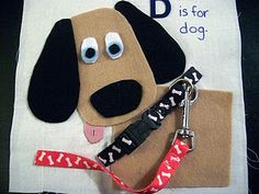 dog and leash - so cute.  Like the buckle and the hook to leash