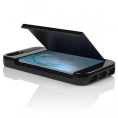 iPhone 5 STOWAWAY Credit Card Case with Integrated Kickstand