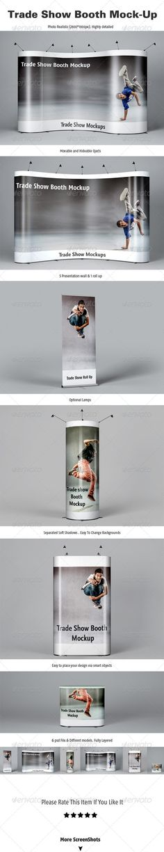 Trade Show Booth Mockups :  Check out this great #graphicriver item 'Trade Show Booth Mockups' http://graphicriver.net/item/trade-show-booth-mockups/5266231?ref=25EGY