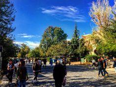 Lovely day today  #sunshine #athens #greece #acropolis #instamood #instalifo #instalike #instaview
