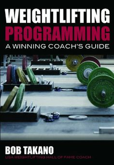 Weightlifting Programming: A Winning Coach's Guide by Bob Takano,http://www.amazon.com/dp/0980011159/ref=cm_sw_r_pi_dp_9TEisb0P4PS6ZF61