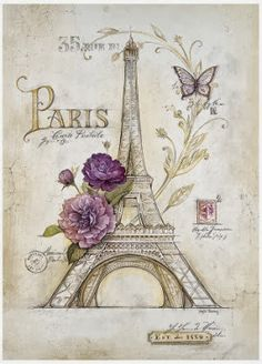Eiffel Tower Roses Prints by Angela Staehling & AllPosters.at The post Eiffel Tower Roses Prints by Angela Staehling & by AllPosters.ie appeared first on Trendy. Paris Kunst, Paris Art, Art Parisien, I Love Paris, Paris Eiffel Tower, Eiffel Towers, Paris Theme, Paris Decor, Vintage Paris
