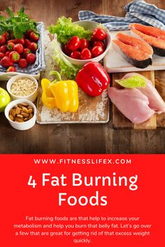 Fat burning foods are that help to increase your metabolism and help you burn that belly fat. Lets go over a few that are great for getting rid of that excess weight quickly. Strawberry Fudge Recipe, Reduce Appetite, Fat Foods, Fat Burning Foods, Better Life, Metabolism, Lose Weight, Weight Loss, Health Fitness