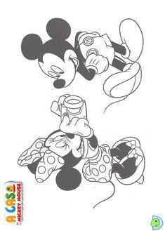 colorir, 38 Desenhos de A casa do Mickey para colorir, Colorir Mickey Mouse Club House, Colorir a Casa do Mickey Mouse, Desenhos de A casa do Mickey para imprimir e pintar, mickey, colorir Disney, coloring Mickey mouse Club House