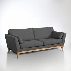 A contemporary sofa with Scandinavian flair House Furniture Design, Living Room Sofa Design, Living Furniture, Home Decor Furniture, Sofa Furniture, Home Living Room, Living Room Designs, Living Room Decor, Living Room Goals
