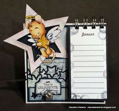 Claudia's Karteria: DT FwSam Challenge - Little Star Little Star, Blog, Challenges, Stars, Crafts, Fictional Characters, Boxes, Bricolage, Handmade