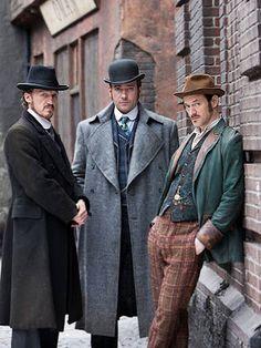 Ripper Street  - BBC Matthew McFayden et al. star in this great steampunk/turn of the century detective series.