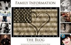 Operation Love Reunited offers free photo sessions and homecoming shots for #MilFams with a deployed service member.