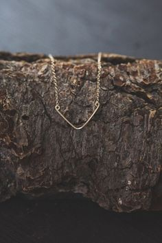 Shop for Veronica & Harold - Baby Blair Chevron Necklace in Gold at Show Pony Boutique. A marvelous women's boutique featuring clothing, shoes, jewelry, accessories, handbags and gifts. Free Shipping on orders over $200