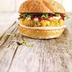 Végé burger au quinoa