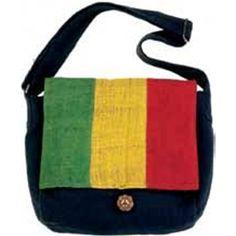 Rasta Messenger Bag $23.95