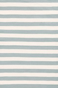6x9 Trimaran Stripe Light Blue/Ivory Indoor/Outdoor Rug | dash & albert $298