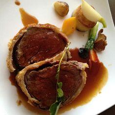 Gordon Ramsay's  famous Beef Wellington at London