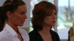 "Burn Notice 2x08 ""Double Booked"" - Fiona Glenanne (Gabrielle Anwar) & Jeannie Anderson (Amy Pietz)"