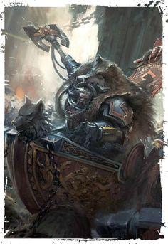 Логан Гримнар Великий волк