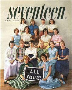 Seventeen Magazine cover 1949
