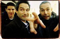 Mike D (Michael Diamond), Ad-Rock (Adam Horovitz) and the late great MCA (Adam Yauch)