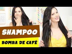 SHAMPOO BOMBA DE CAFÉ FAZ O CABELO CRESCER MAIS RÁPIDO? (parte 1) por Julia Doorman - YouTube