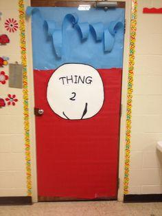 Door decorations for dr Seuss