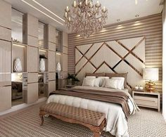 87 extraordinary and inspiring home bedroom interior design for decoration 83 Luxury Bedroom Design, Master Bedroom Design, Home Decor Bedroom, Home Interior Design, Luxury Home Decor, Diy Bedroom, Bedroom Ideas Master For Couples, Master Suite, Bedroom Furniture