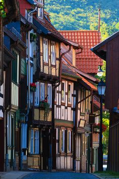 Wernigerode, Germany by akustyk on Trekearth would love to just stroll down this street