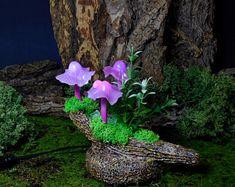 Paper Mache Mushroom Lamp Light Sculpture Handmade Lamp | Etsy Light Table, Lamp Light, A Table, Stuffed Mushroom Caps, Stuffed Mushrooms, Mushroom Art, Handmade Lamps, Paper Mache, Faeries
